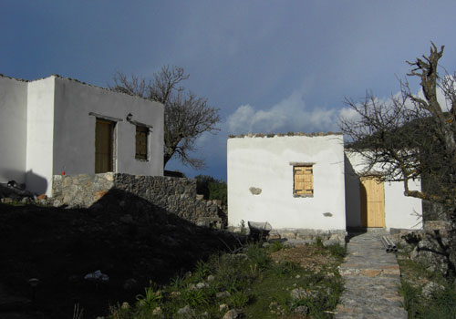 Crete walks: Agios Ioannis lodgings