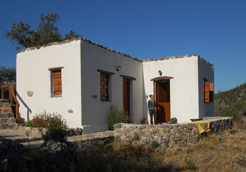 Crete walks: Agios Ioannis mountain retreat
