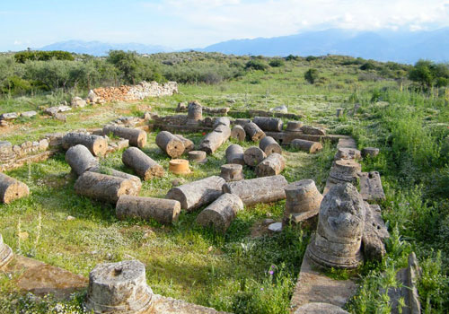 Crete walks: Aptera, antique ruins