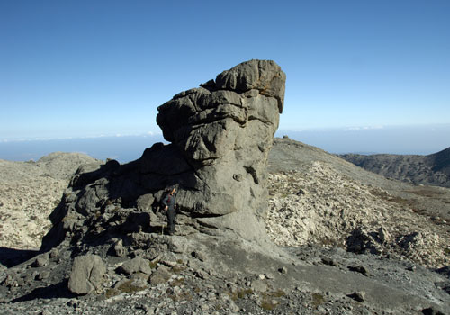 Crete walks: Rock in the Lefka Ori