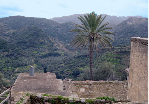 Crete walks: View from Polyrinia
